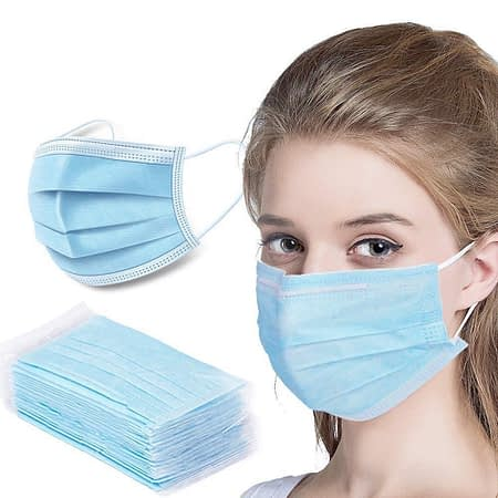 Protective PPE face mask for workplace 1
